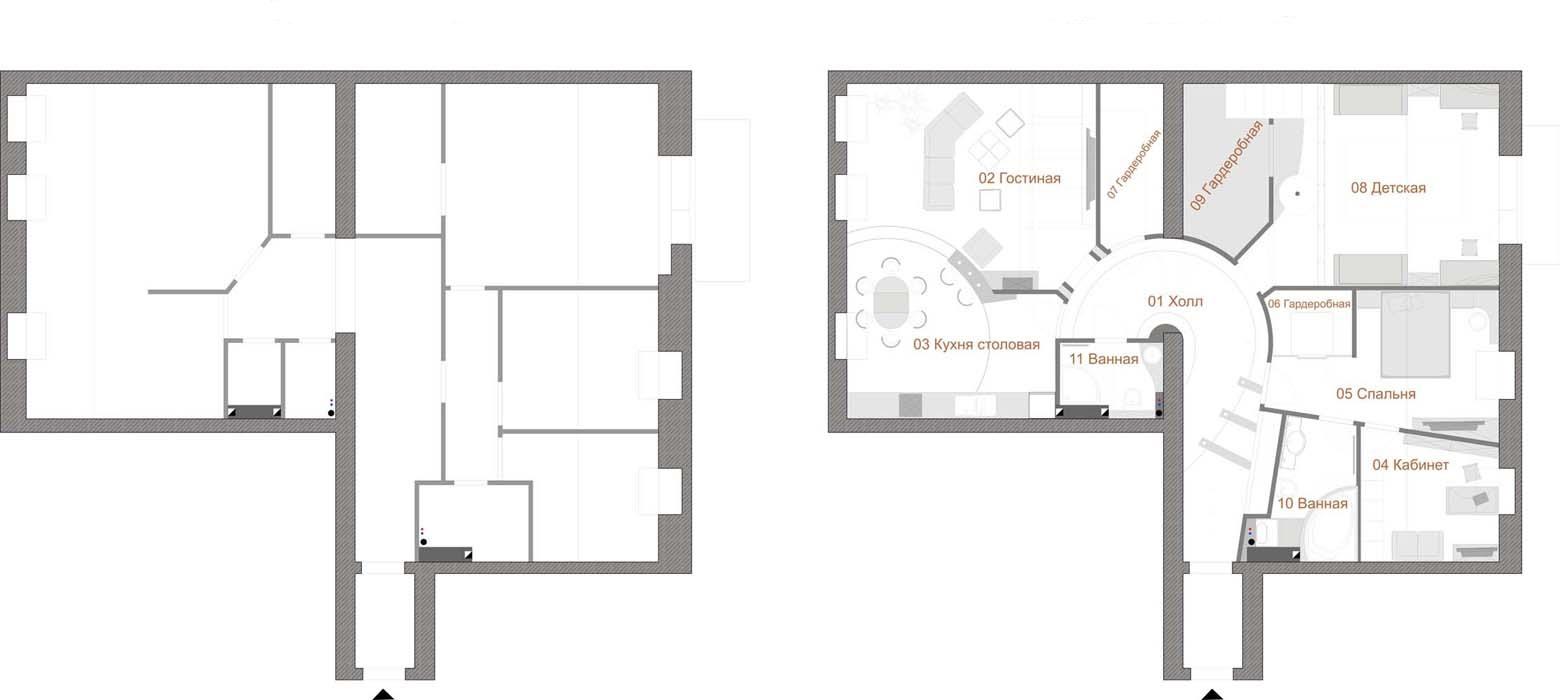 порядок раздела квартиры на две могу прежде